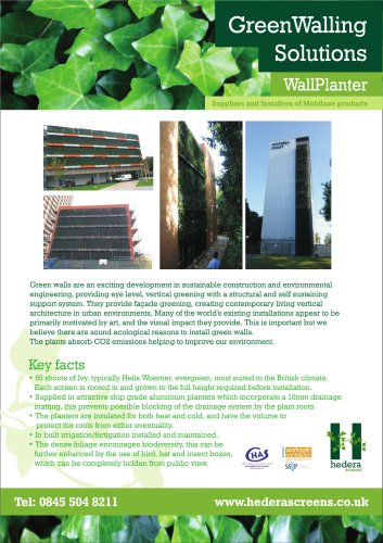 GreenWalling Solutions