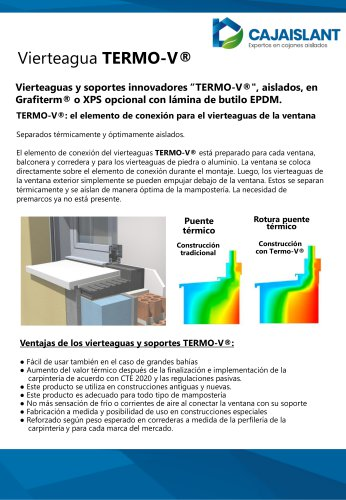 Vierteaguas Termo-V