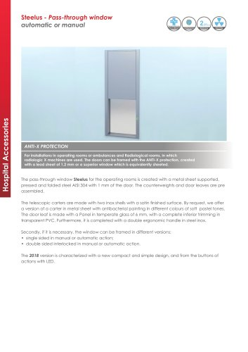Steelus - Pass-through window