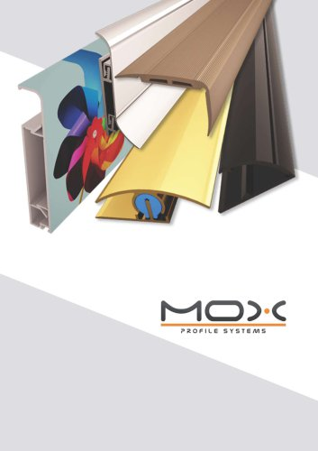 Mox Aluminum Profile Systems 2018 Product Catalog
