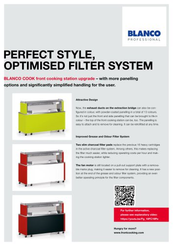 PERFECT STYLE,  OPTIMISED FILTER SYSTEM