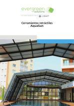 Evergreen Solutions_AquaSun_Cerramientos Telescópicos Independientes