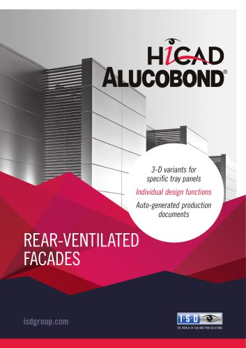 HiCAD ALUCOBOND® – A new CAD solution for façade engineering