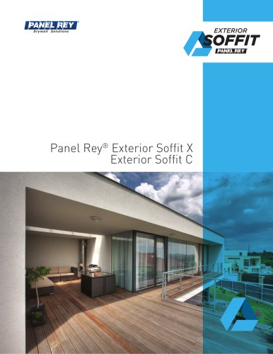 Panel Rey® Exterior Soffit X Exterior Soffit C