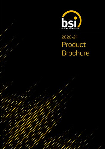 2020-21 Product Brochure