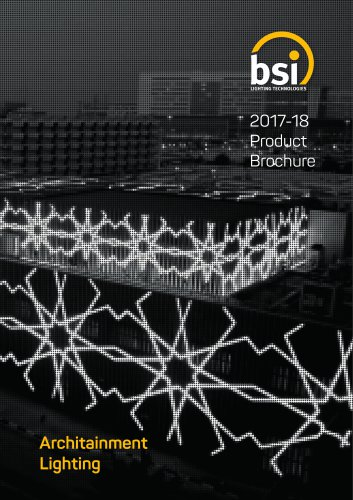 Bsi 2017-18 Product Brochure