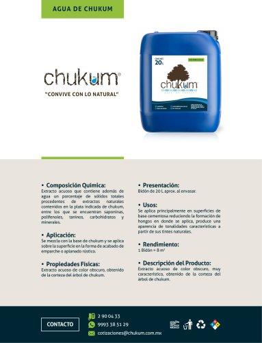 AGUA DE CHUKUM
