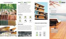 Fused bamboo leaflet