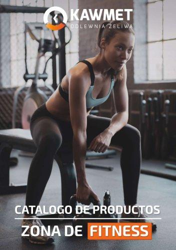 CATALOGO DE PRODUCTOS ZONA DE FITNESS