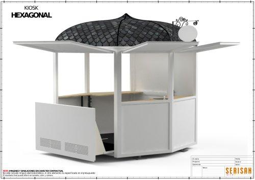 Hexagonal Kiosk