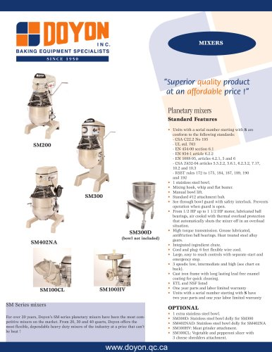 Mixer SM200