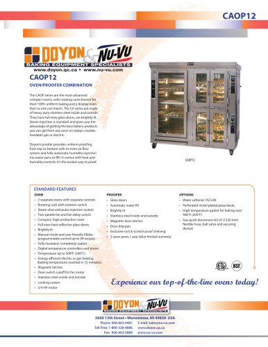 Oven Proofer CAOP12