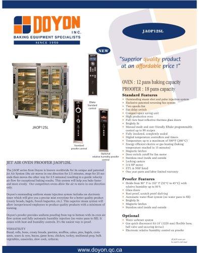Oven proofer JAOP12SL