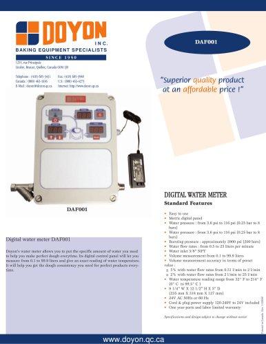 Water meter DAF001