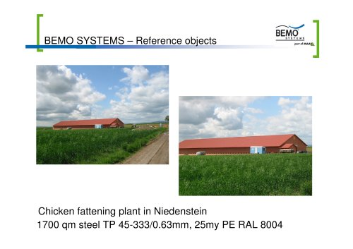 BEMO SYSTEMS – Reference objects