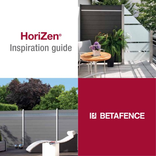 HoriZen Inspiration guide