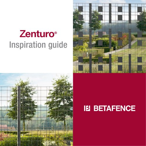 Zenturo® Inspiration guide