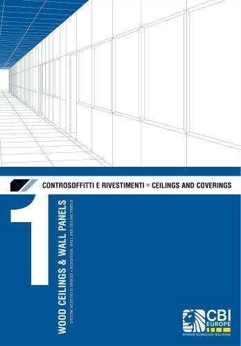 CEILINGS AND COVERINGS : WOOD CEILINGS & WALL PANELS