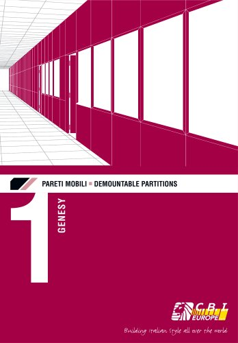 DEMOUNTABLE PARTITIONS : GENESY