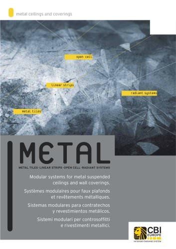 metal ceilings & coverings