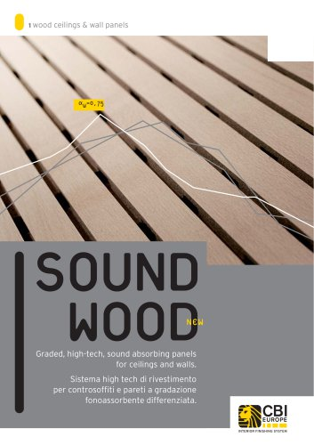 sound wood ceilings & wall panels