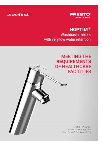 HOPTIM'® - medical tapware