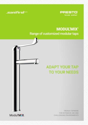 MODULMIX® - range of customized modular taps