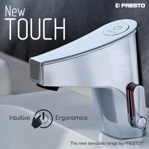 NEW TOUCH, the sensitive range by PRESTO