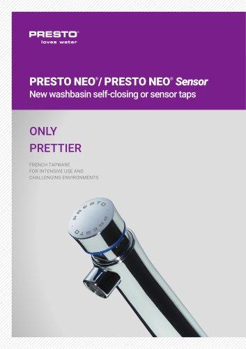 PRESTO NEO®/NEO® SENSOR/NEO® DUO - washbasin taps