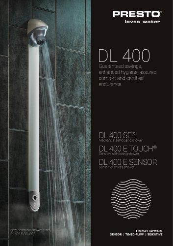Range DL 400 - shower panel