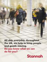 All day, everyday, throughout the UK, we help to keep people and goods moving. Do you know what we can do for you?