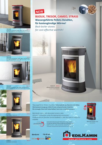 PELLET THERMO STOVES