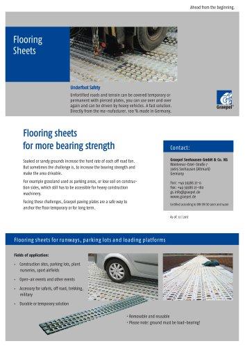 Graepel flooring sheets