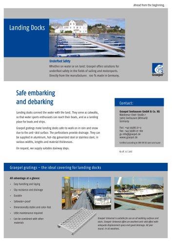 Graepel landing docks