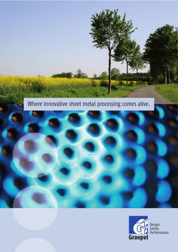 Where innovative sheet metal processing comes alive.