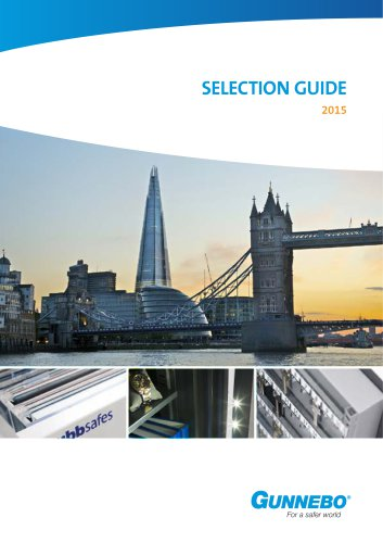 SELECTION GUIDE 2015