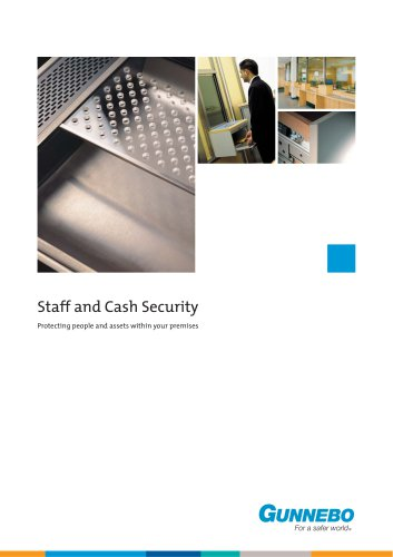 Staff and Cash Security Brochure