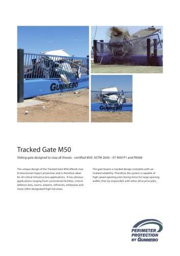 Tracked Gate M50