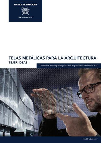 Telas Metálicas para Arquitectura HAVER & BOECKER. Tejer ideas.
