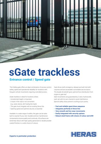 sGate trackless