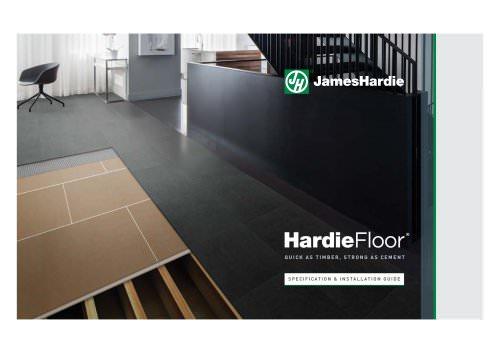 HardieFloor Product Information