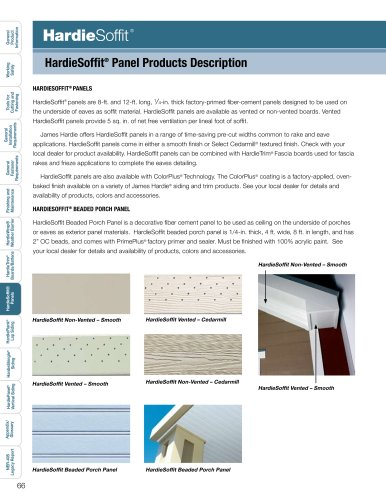 Products Installation Guide_HardieSoffit pg. 66-77