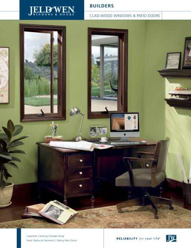 Builders Clad-Wood Windows and Patio Doors