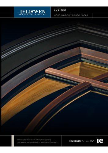 Custom Wood Windows and Patio Doors