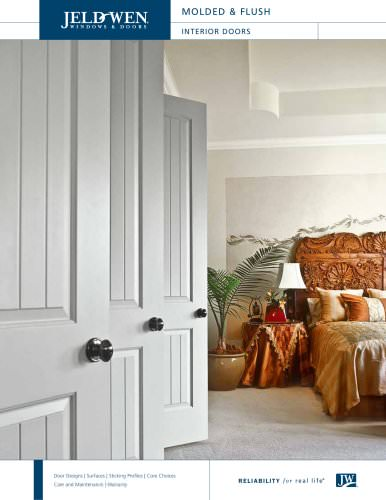Molded and Flush Wood Composite Interior Doors