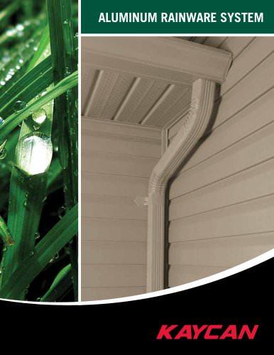 Aluminum Rainware Systems