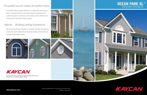 Ocean Park XL brochure