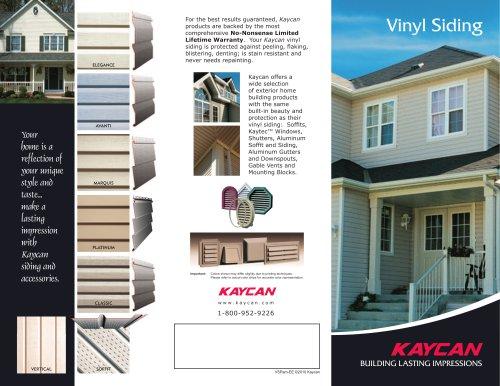 Vinyl Siding Pamphlet ? East