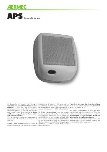 Ficha producto - Purificador de aire