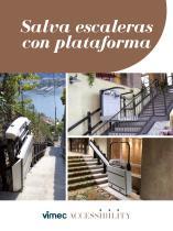 Salva escaleras con plataforma Vimec